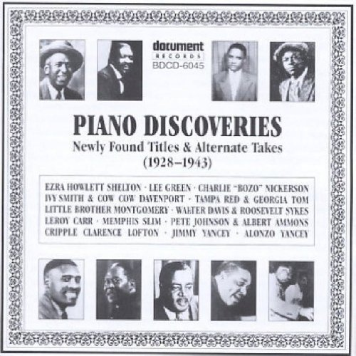 Piano Discoveries (1928-1943) by DOC