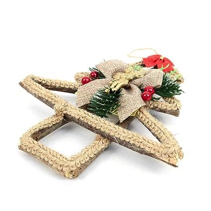 Angel Shaped Christmas Tree.Amazon Com Festive Holiday Rustic Wooden Twig Tree Shaped