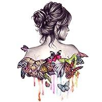 Geboor Dipinto ad olio fai-da-te con kit di numeri, olio su tela per adulti e disegno principiante con spazzole senza cornice