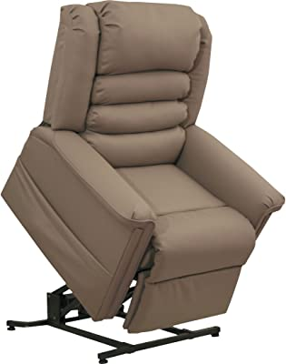 Catnapper 4832258218 Invincible Powerlift Lay Out Chaise Recliner