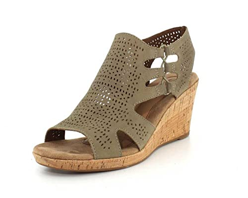 c48414f870 Image Unavailable. Image not available for. Color: Rockport New Cobb Hill  Women's Janna Perf BT Sandal ...