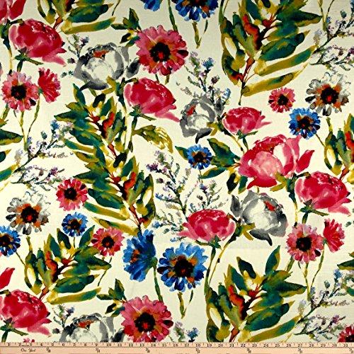 Kelly Ripa Home Flower Mania Petunia Fabric by The Yard
