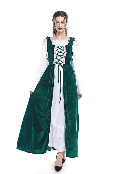 Amazon.com: rolecos renacimiento disfraz de irlandés ...