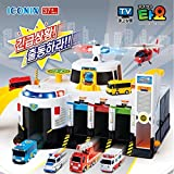 New Korean Animation Character Tayo The Little Bus Emergency Rescue Headquarter Play Set