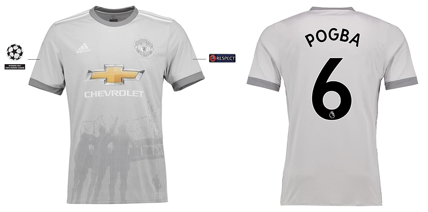 Trikot Kinder Manchester United 2017-2018 Third UCL - Pogba 6