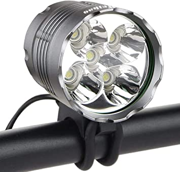 20000Lumen Bike LED Front Light Headlamp Bicycle Cycling Headlight Rechargeable