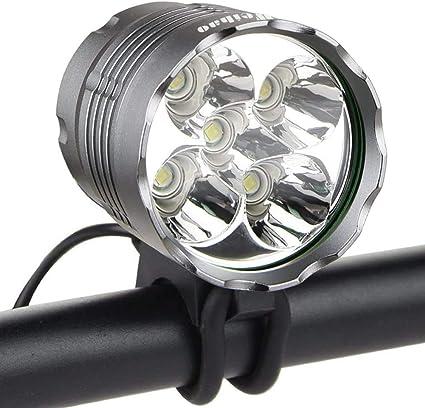 Battery Power Waterproof LED Bike Bicycle Head Light Front Handlebar Lamp