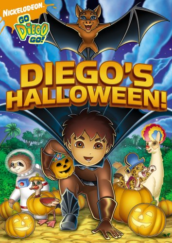 Go Diego Go! Diego's Halloween - Halloween Pictures Cartoon
