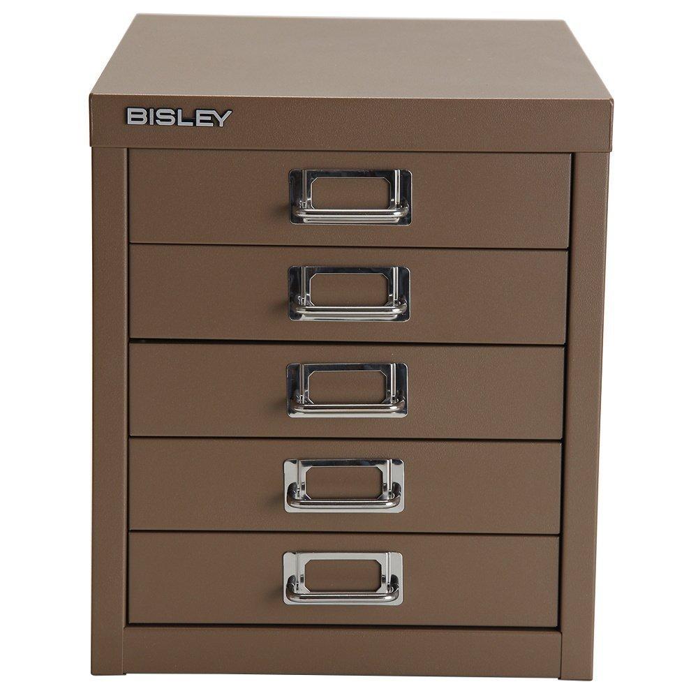 BISLEY [ ビスレー ] H125NL マルチ収納ケース/キャビネットベーシック 12 【5段】 Coffee TX コーヒー TX [並行輸入品] B017CLAHSE コーヒー TX コーヒー TX