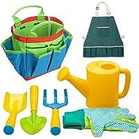 Kid Tuinieren Gereedschap Kit, Kinderen Tuinieren Speelgoed Kids Strand Sandbox Speelgoed Set Tuinapparatuur Hark Spade…