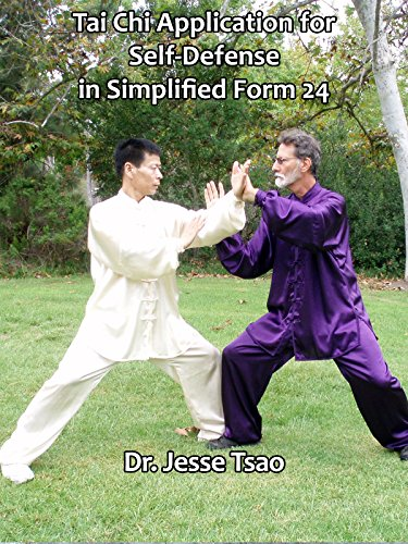 Tai Chi Application for Self-Defense in Simplified Form 24 by