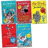 David Walliams Pack, 5 books, RRP £33.95 (Gangsta Granny; Billionaire Boy; Boy In The Dress; Mr Stink; Rat Burger).