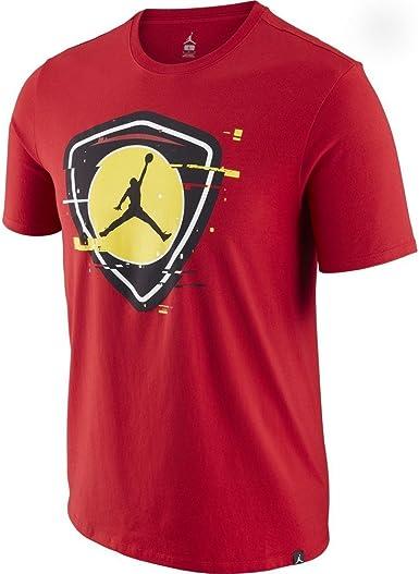 Jordan Camiseta Sportswear Last Shot 1 Rojo/Amarillo Talla ...