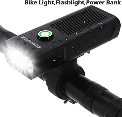 NEW Bike Lights Front and Back USB Rechargeable Super Bright 1000 Lumens 3 LED