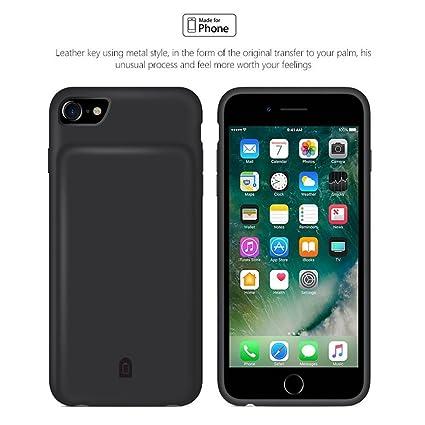 Amazon.com: Aitoo iPhone 7 carcasa de batería con audio, Negro