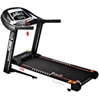 Treadmill Home Gym Folding Equipment Exercise Workout Fitness Running Equipment Machine with 1.5-3.5HP 12 Training Programs 12-18KM/H Speed LCD Display Everfit