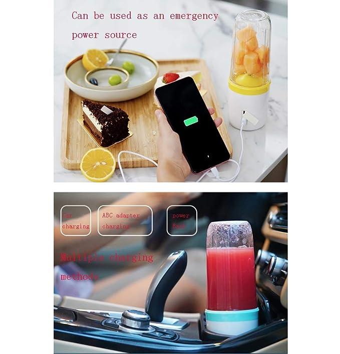 BBNGL Viajes Multifuncional Blender, USB portátil de la pequeña ...
