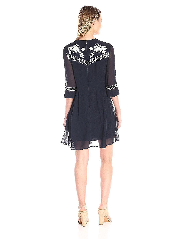 French Connection Womens Kiko Stitch Dress