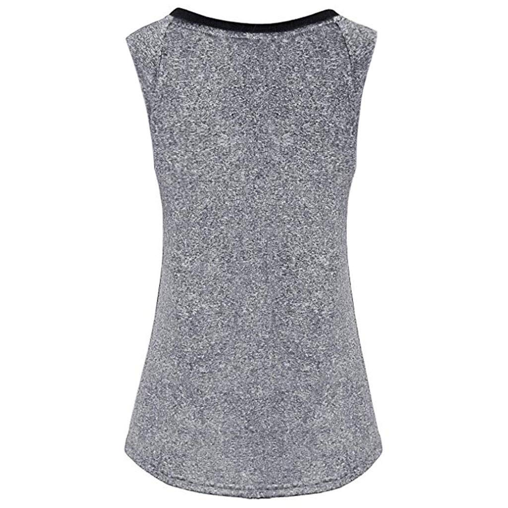 Boomboom Women Workout Gym Clothes Yoga Fitness Tank Shirts Vest