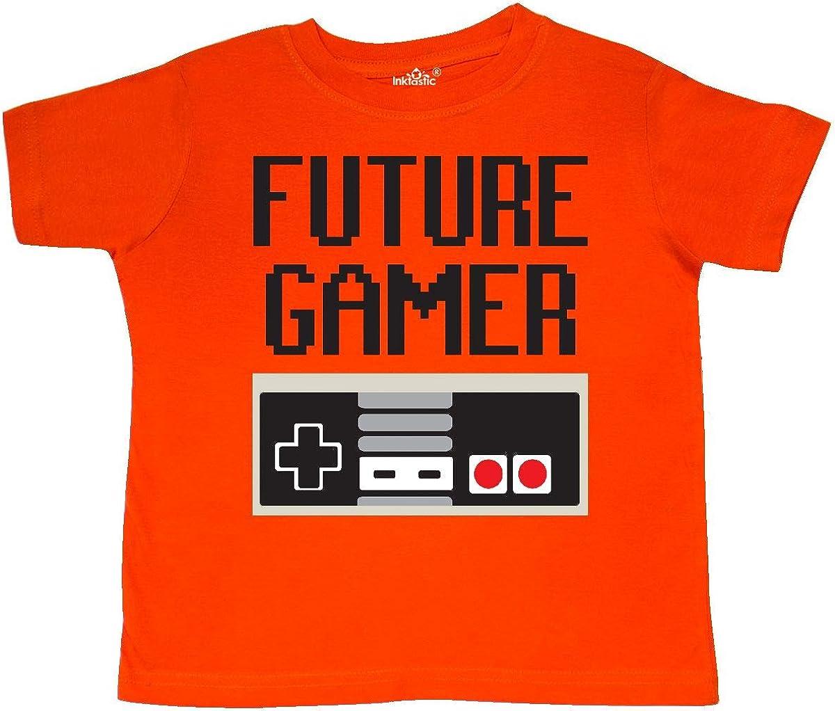 inktastic Future Gamer Toddler T-Shirt