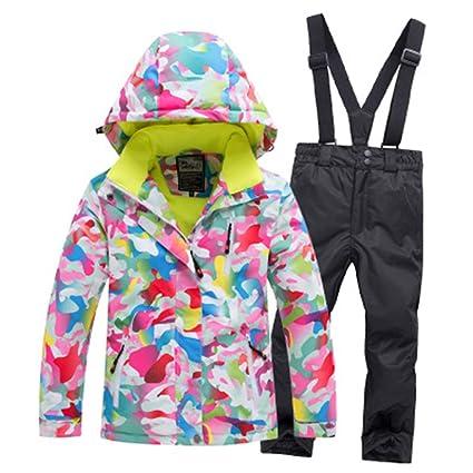Amazon.com: Set de traje de nieve para niños y niñas ...