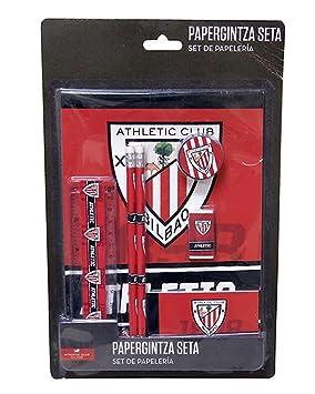 Athletic Club DE Bilbao Set de papeleria 7 Piezas: Amazon.es ...