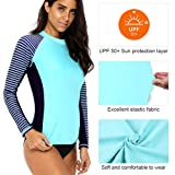 CharmLeaks Women's UV Sun Protection Rash Guard