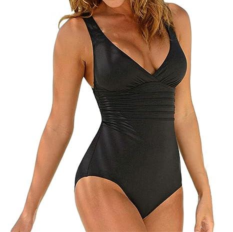 Bañadores Mujer Ronamick,Traje de Baño de Una Pieza Bikini ...