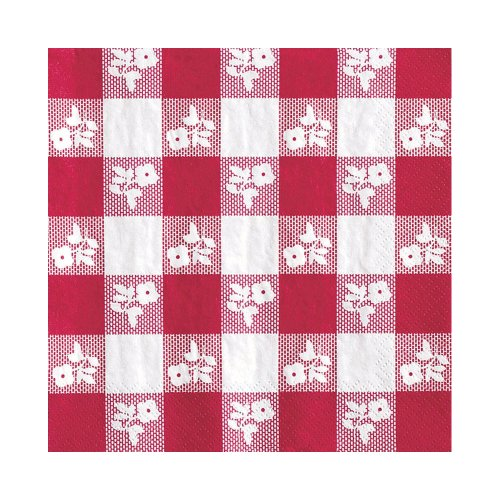 Creative Converting Count Napkins Gingham
