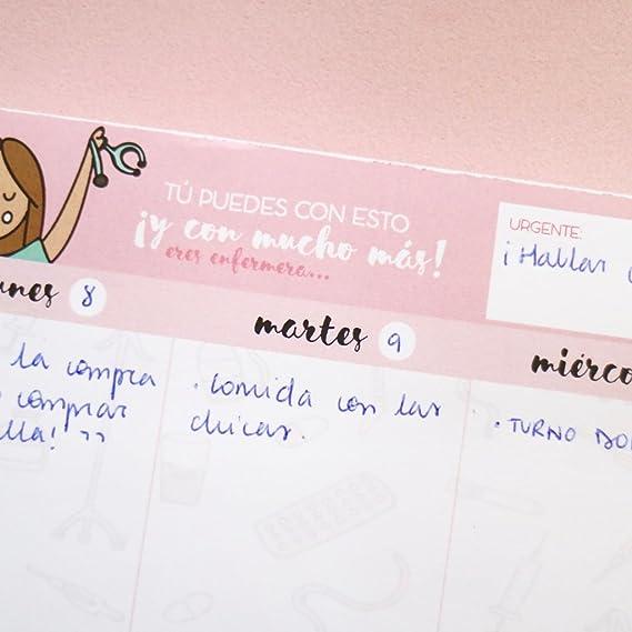 Enfermera en Apuros PLANSM00 - Organizador semanal: Amazon ...