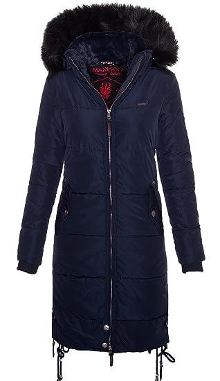 Mantel B349 Damen Marikoo Langer Winter Gesteppt n0N8wmOv