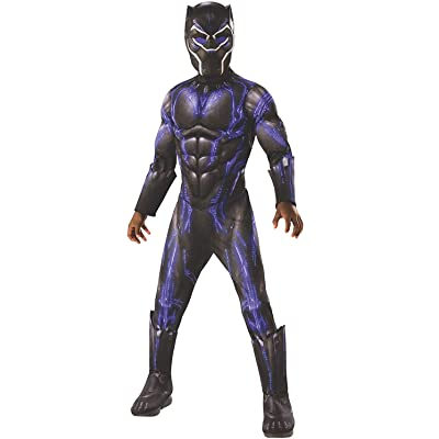 Rubie's Costume Black Panther Avengers Endgame Child Deluxe Battle Costume: Toys & Games