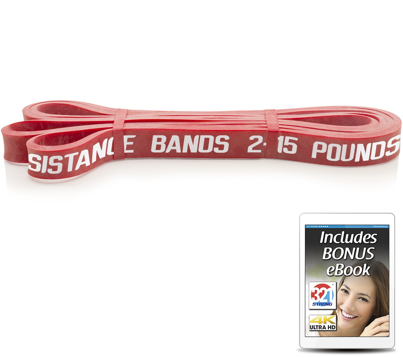 321 STRONG Exercise Resistance Bands - Level 2