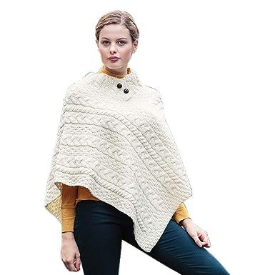 timeless design wide varieties cheapest price Aran Woolen Mills Best Women's Irish Wool Button Cape ...