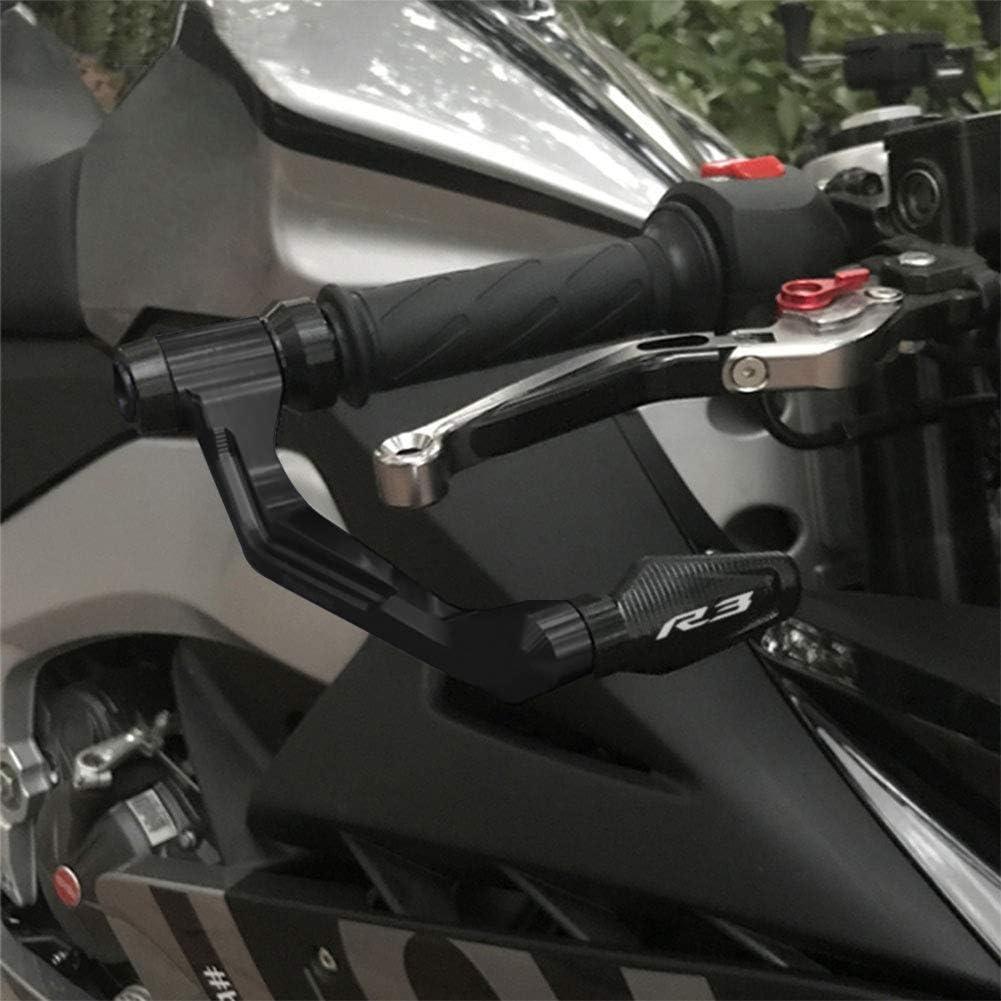 Protection Levier De Frein NHJUIJ Protection dembrayage de Frein de Moto Adapt/é pour Y-AMAHA YZF R3 YZF-R3 2015 2016 2017 2018 2019 2020 Prot/ège-Guidon