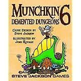 Steve Jackson Games SJG 1457 Munchkin 6 Demented Dungeons