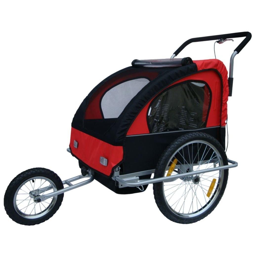 Rimorchio Bicicletta, rimorchio bici, Passeggino Carrellino 1o2 Bimbi Bambini vidaXL