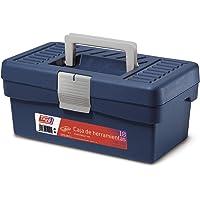 Tayg Caja herramientas plástico n. 10, negro, 290 x 170 x 127 mm