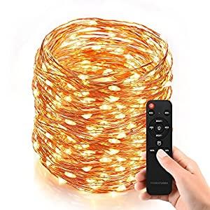 Dimmable Outdoor String Lights : Amazon.com: Homestarry Outdoor String Lights, Dimmable LED String Lights, 80ft 240 LEDs ...