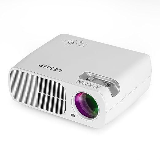 46 opinioni per Mini Proiettore LESHP LED Proiettore Video Multimedia Home Theater con