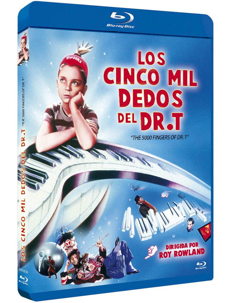 Los 5000 Dedos del Dr. T BD 1953 The 5,000 Fingers of Dr. T. [Blu-ray]