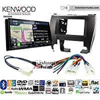 Volunteer Audio Kenwood Excelon DNX994S Double Din Radio Install Kit with GPS Navigation Apple CarPlay Android Auto Fits 2015-2017 Non Amplified Toyota Camry