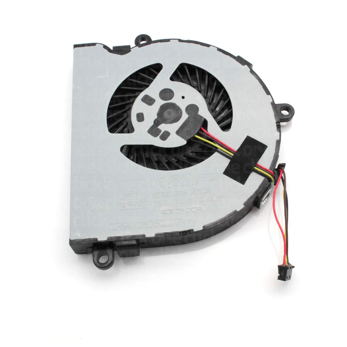 One Click Components New Replacement CPU Cooling Fan for HP Notebook 15-BA099NA 1BX62EA#ABU