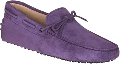 Amazon.com | Tod's Men's Purple Suede