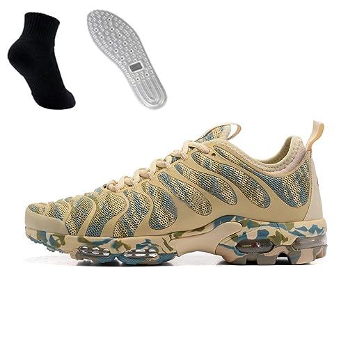 Air Plus TN Sneakers Mesh Zapatillas para Correr Mujer Hombre Transpirables Ligeros Deportivos Zapatos (37