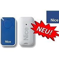 NICE inti1b Blue 1canal handsender, 433.92Mhz rolling code.