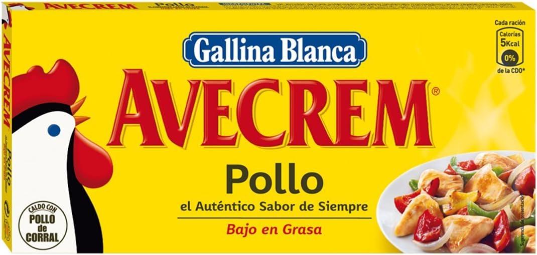 Gallina Blanca - Avecrem - Caldo de pollo - 24 pastillas - 240 g