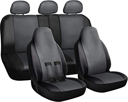 SEAT COVERS UNIVERSAL COVER Black