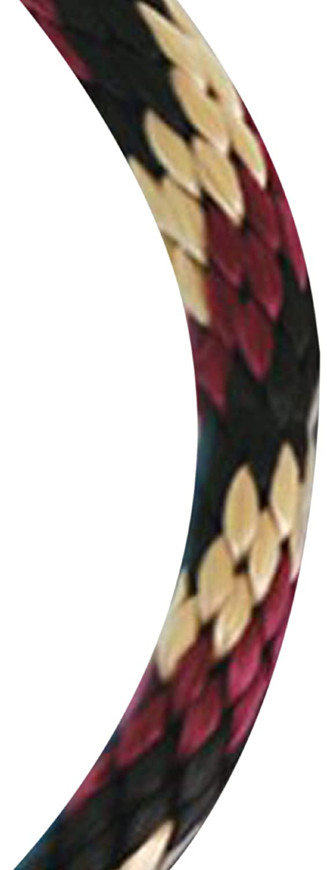 1//2 by 35 Feet Koch 5091615 Solid Braid Polypropylene Rope Red