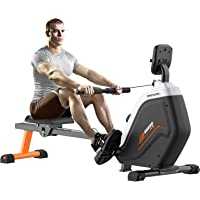 pooboo Magnetic Rowing Machines Rower Foldable with 16 Level Resistance Indoor Rower Machines with Digital Monitor…